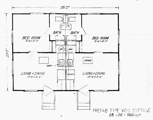 Type VC-1 Cottage Plan