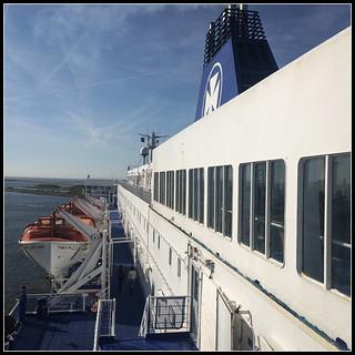 Leaving IJmuiden