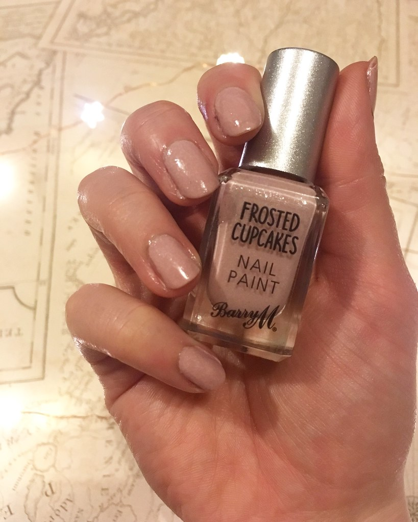 Barry M Nail Polish Frosted Cupcake