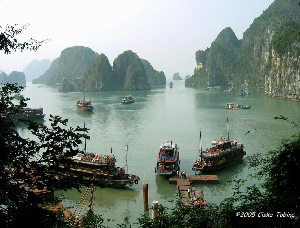 Ha Long Bay Vietnam Halong Bay Is A Body Of Water Of