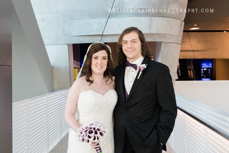 Perot Museum Wedding Photographer www.melissaclairephotography.com