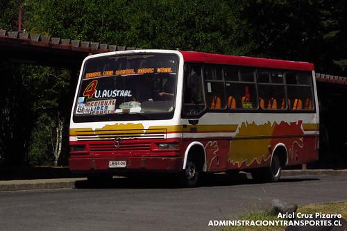 Valdivia - Línea 4 | Transporte Regional Sur | Metalpar / Mercedes Benz (LR9406)