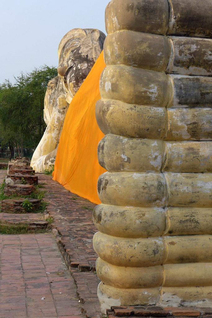 Thaïlande - Ayutthaya - 221 - Wat Lokayasutharam