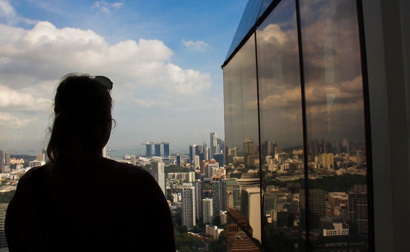 de bedste udsigtspunkter i Singapore