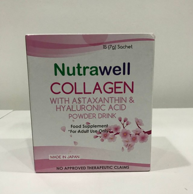 Collagen with Astaxanthin and Hyaluronic Acid