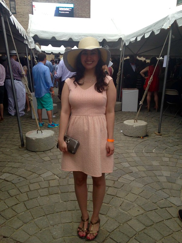 Preakness at the Piazza outfit