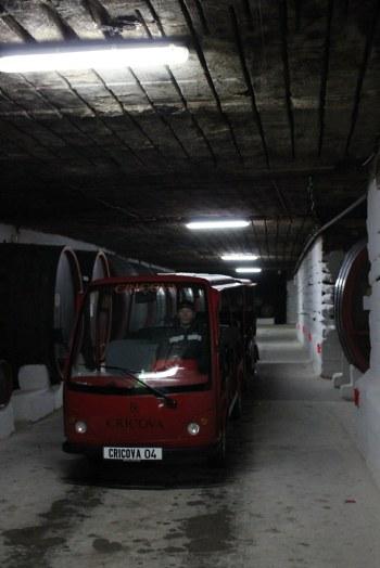 Transport organizat la Cricova, crame din Moldova