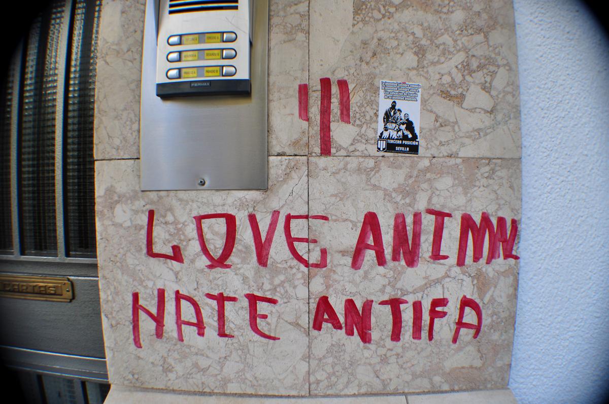 Love Animal Hate Antifa