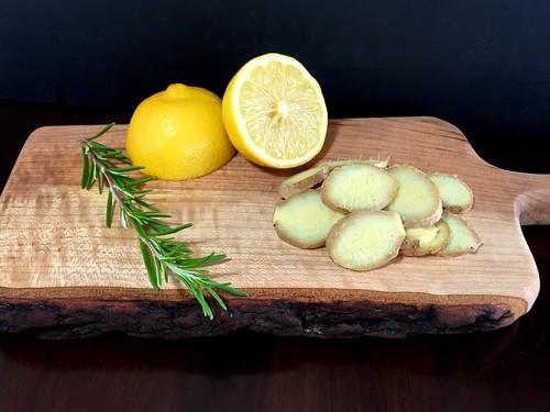 lemon and ginger