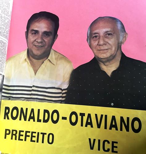 Retrovisor. A dupla que recolocou Santarém no caminho das urnas, Retrovisor. Cartaz da vitória.