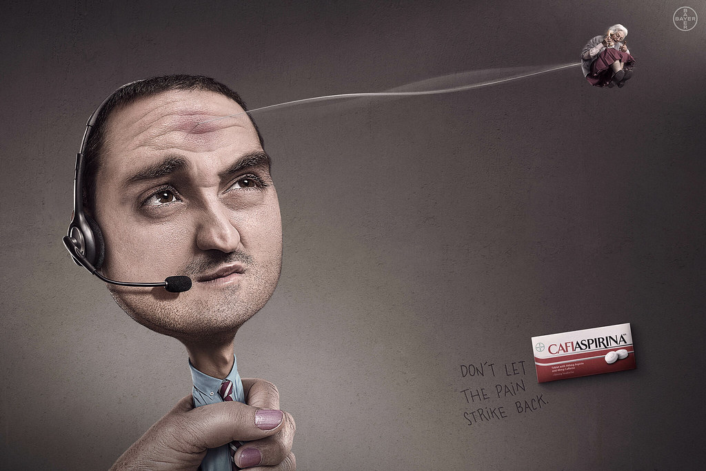 Bayer Cafiaspirina - Marketing