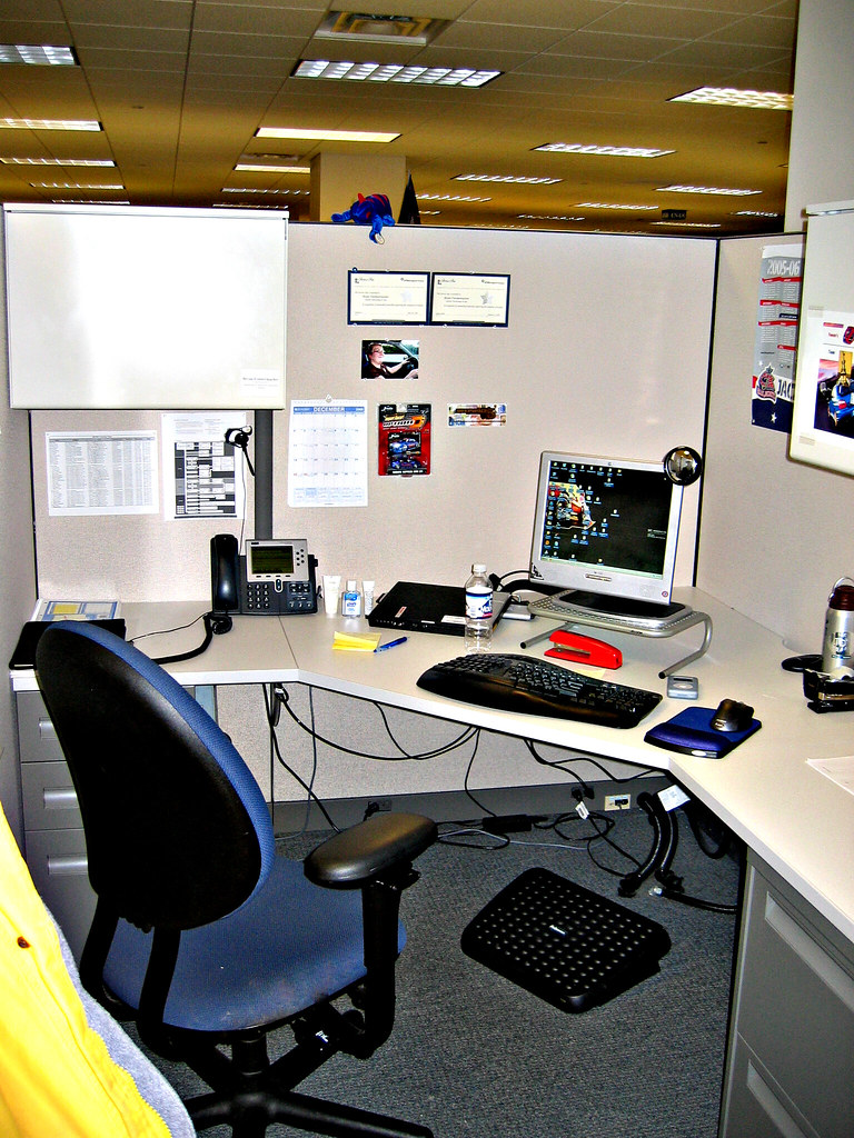 Office Cubical Ahh Yes My Cubical At Work In All Of It