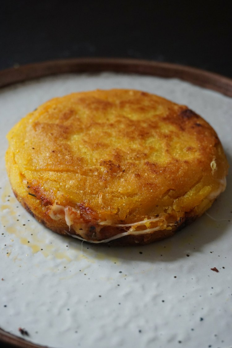Gluten free hot pocket arepas