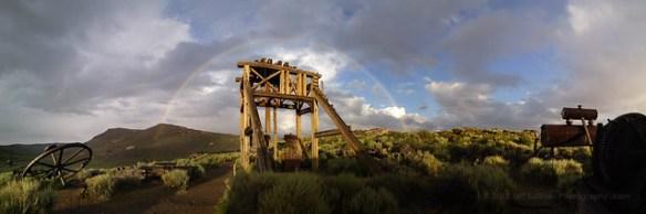 Bodie Rainbow Panorama