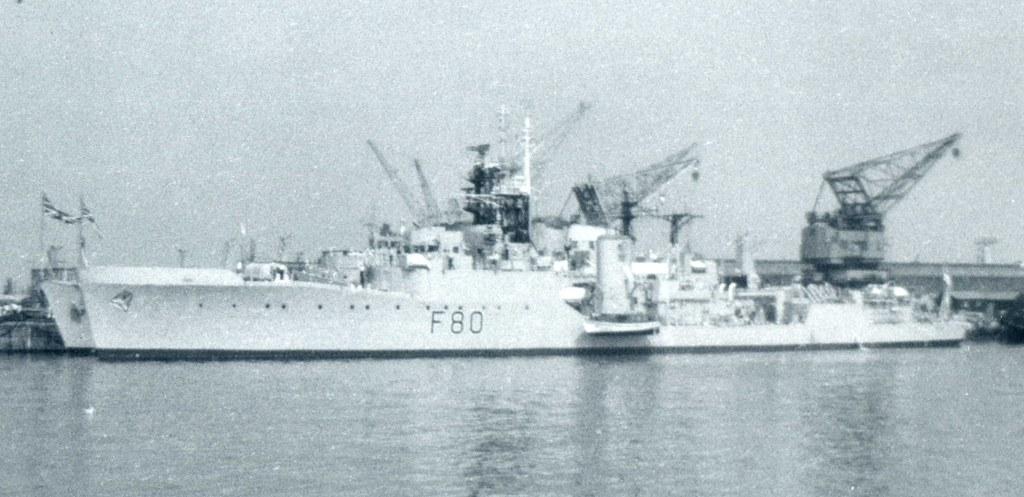 HMS Duncan F80 Type 14 Blackwood Class Anti Submarine Fr