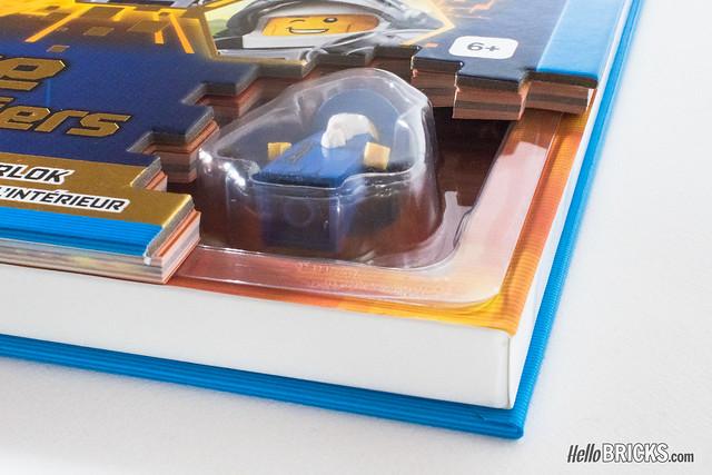 LEGO Nexo Knights Le Livre des Chevaliers (exclusive Merlok minifigure)