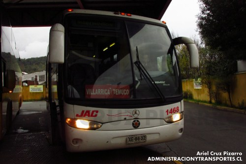 JAC - Temuco - Marcopolo Andare Class / Mercedes Benz (XE8632)