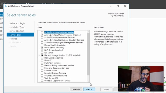 Configuring DHCP Server and WDS for MDT Build 8443 | BTNHD