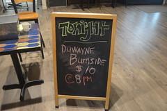 018 Tonight Duwayne Burnside