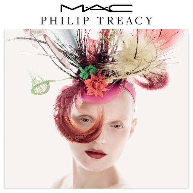 Philip Treacy x MAC