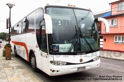 Servicio Especial Colo Colo - Castro - Marcopolo Viaggio 1050 / Mercedes Benz (ZT7966)