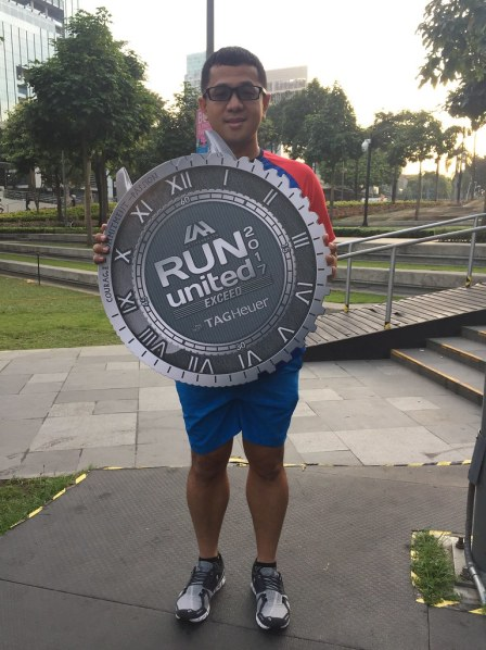 Run United Exceed 2017 Medal Design