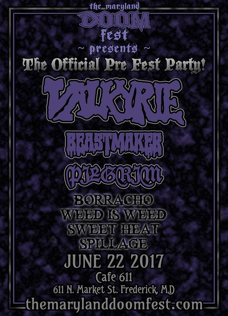 Maryland Doom Fest Pre Fest Party