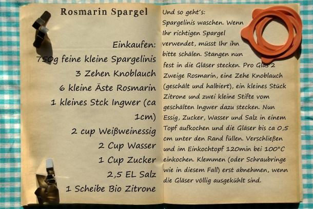 Einkaufszettel Rosmarinspargel by Glasgeflüster
