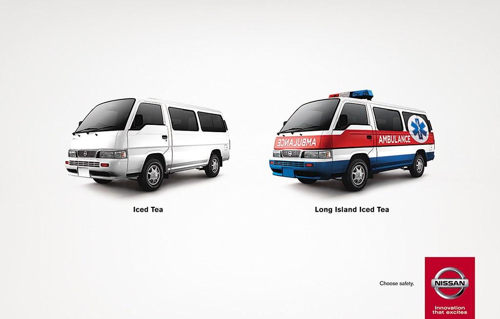 Nissan - Choose safety Long Island Iced Tea