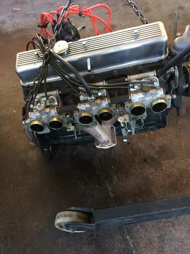 Motore Triumph TR6 PI