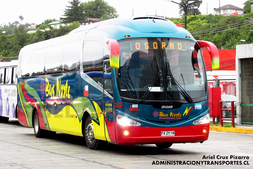 Bus Norte Internacional - Puerto Montt - Irizar I6 /