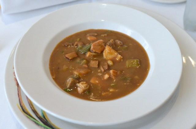 Creole Gumbo a rich gumbo spiked with Louisiana hot sauce and Creole seasonings