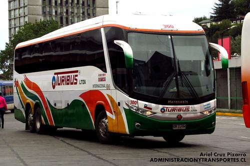 Turibus Internacional - Puerto Montt - Marcopolo Paradiso 1200 G7 / Scania (DRZJ54)
