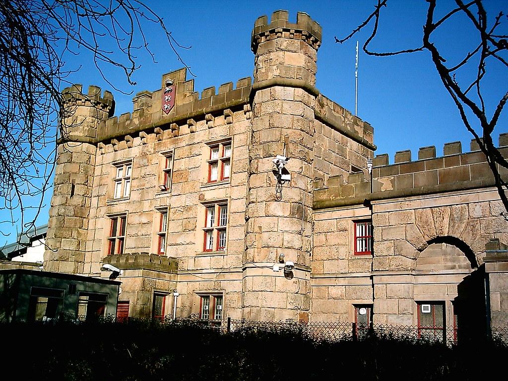 Old Gatehouse Of Preston Prison Victorian Stanley St P