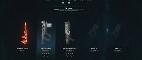 Mass Effect Andromeda Weapon Classes