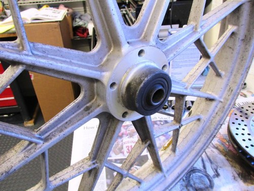 Front Wheel Right Side of Hub