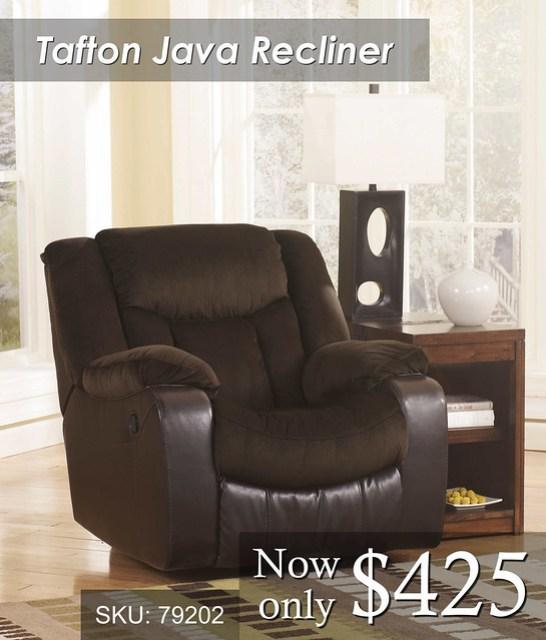 Tafton Java Recliner