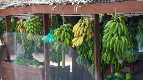 Banana stall