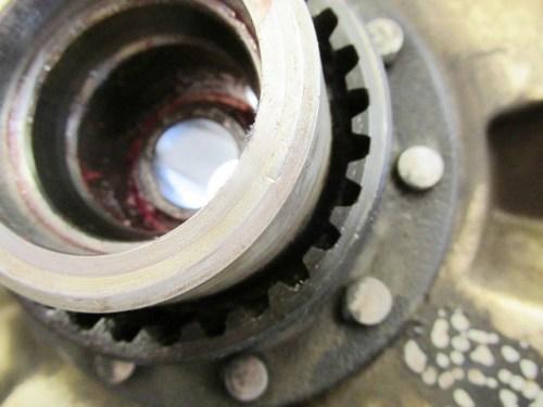 Rear Wheel Drive Splines - Good Condition