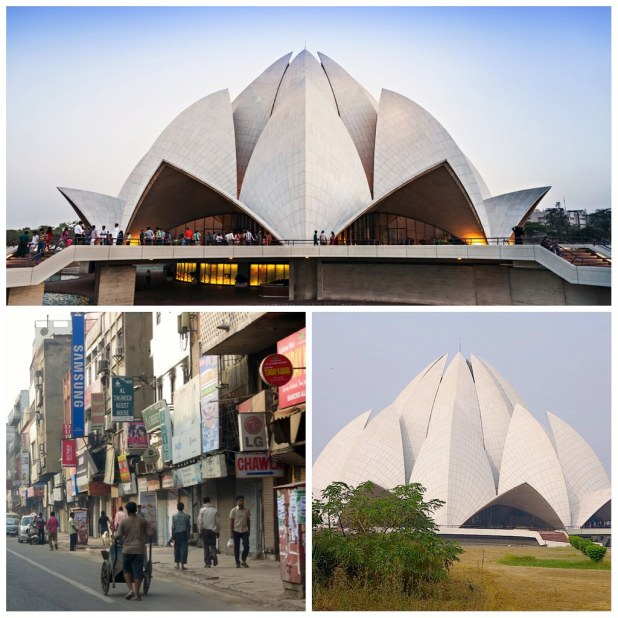 Templo del Loto Delhi