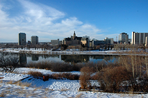 Saskatoon In The Winter Taken Dec 26 2005 On A Very Mild