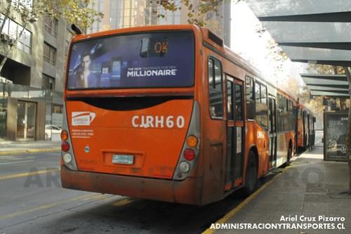 Transantiago - Express de Santiago Uno - Marcopolo Gran Viale / Volvo (CJRH60)