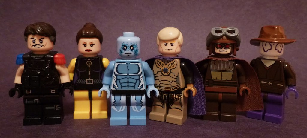 Lego Watchmen Updated Them Some Just Wanted To Show Them Flickr