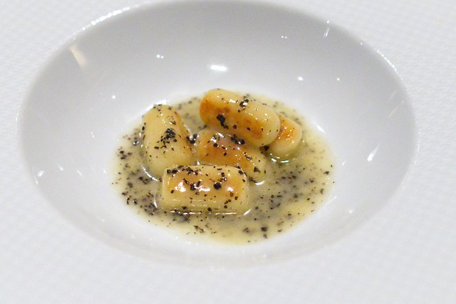 GNOCCHI Black Truffles and Brown Butter