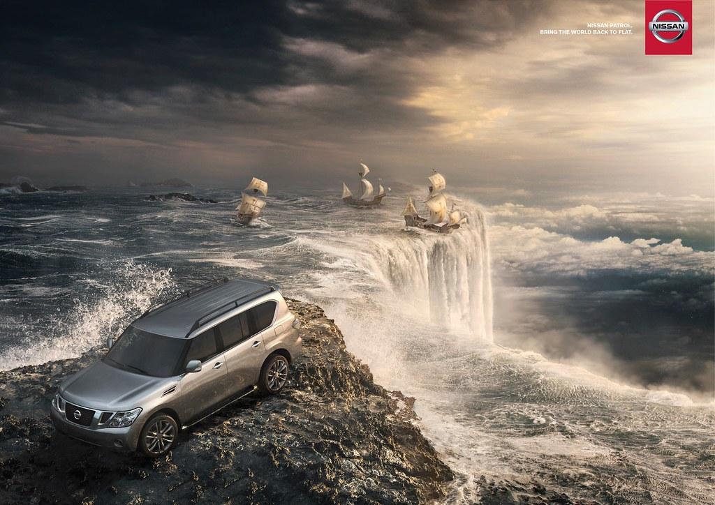 Nissan Patrol - Bring the world back to flat
