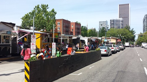 food cart pod portland