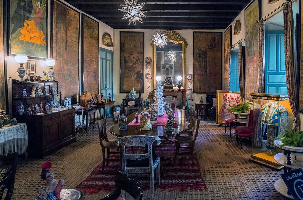 COMEDOR DEL PALACIO DE DUEAS EN SEVILLA DINING ROOM OF