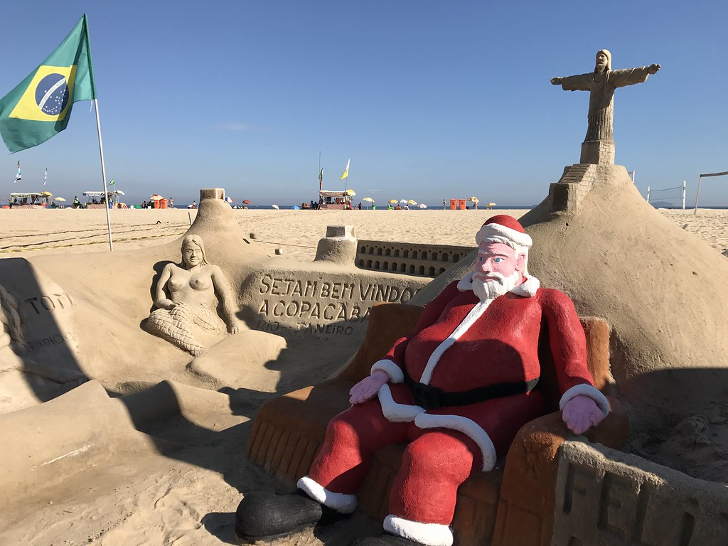 Beach Christmas Pictures Free