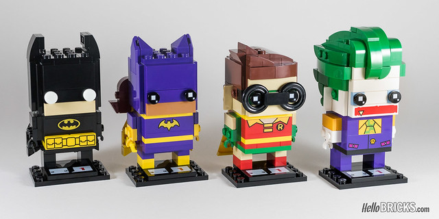 REVIEW LEGO BrickHeadz series 1 The LEGO Batman Movie