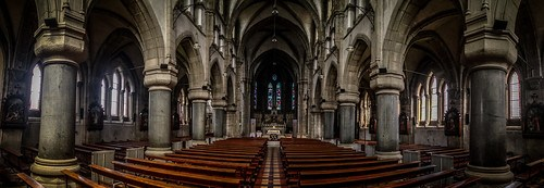 Daniel O'Connell Cathedral Panorama